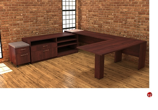 The office leader peblo custom u shape office desk workstation - Custom office desk ...