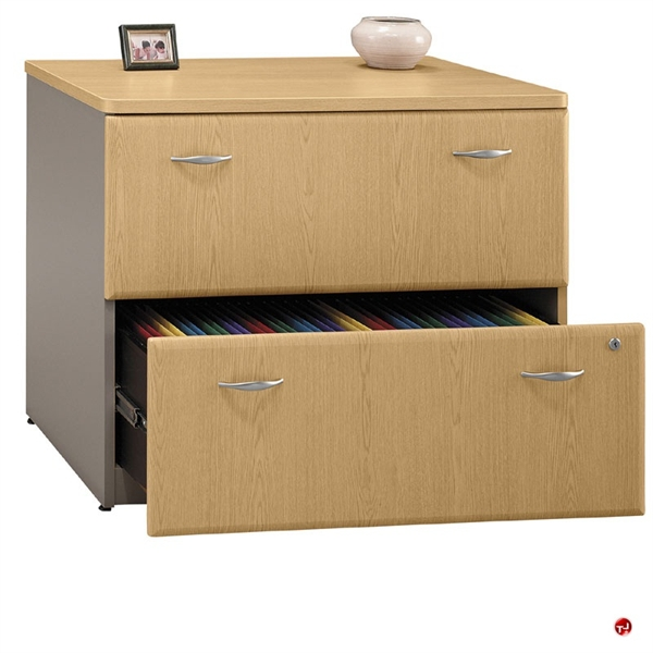 "The Office Leader. ADES 36"" 2 Drawer Lateral Laminate File"