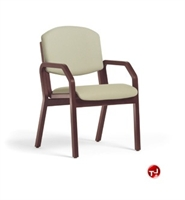 Picture of Sauder Duroply Guest Wood Arm Chair