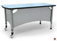 Picture of Apti Height Adjustable Mobile Teacher's Training Desk