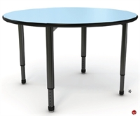Picture of Apti Height Adjustable Round Student Training Table
