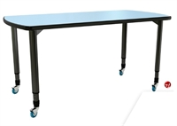 "Picture of Apti Height Adjustable 60""W Mobile Table"