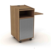 Picture of Apti Mobile Lectern with Shelf