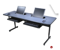 Picture of Apti Height Adjustable Semi Recessed Monitor, Student Training Table