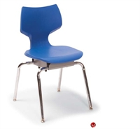 Picture of Bert 4 Position Poly Shell Student Stack Chair