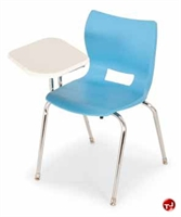 Picture of Bert  Poly Shell Tablet Arm Chair, Chair Combo