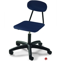 Picture of Bert Poly Armless Office Task Swivel Chair