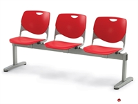 Picture of Bert Poly Shell 2 Seat Beam Seating