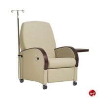 Picture of Healthcare Medical Mobile Recliner, IV Pole, Tablet