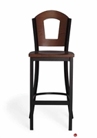 Picture of Cafeteria Dining Wood Bar Stool