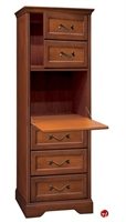 Picture of Hekman C1021 Tall Storage Wood Cabinet