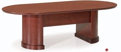 "Picture of 144"" Veneer Racetrack Conference Table"