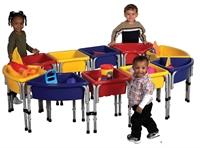 Picture of Astor Kids Sandbox Platform, Indoor/Outdoor