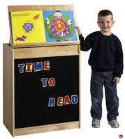 Picture of Astor Kids Play Mobile Easel Storage Cabinet