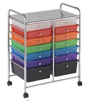 Picture of Astor Mobile Organizer Cart with Trays