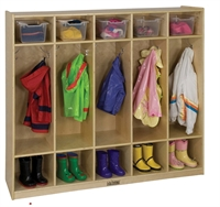 Picture of Astor Kids Storage Coat Open Locker