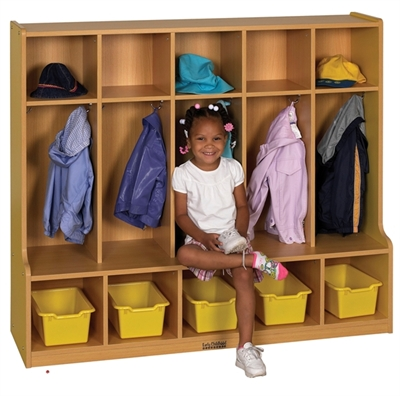 Picture of Astor Kids Open Shelf Coat Locker