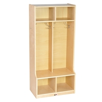 Picture of Astor Open Shelf Kids Wood Coat Locker
