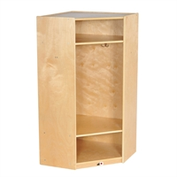 Picture of Astor Open Shelf Wood Coat Locker