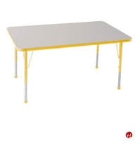 """Picture of Astor 24"""" x 60"""" Height Adjustable School Activity Table"""
