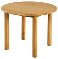 """Picture of Astor 30"""" Round Kids Wood Table"""