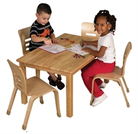 """Picture of Astor 24"""" x 48"""" Kids Play Wood Table"""