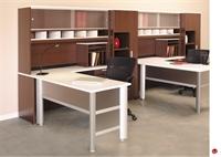 Picture of KI Aristotle 2 Person L Shape Office Desk Workstation