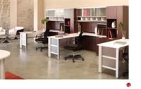 Picture of KI Aristotle 3 Person L Shape Office Desk Workstation