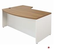 "Picture of KI Aristotle 72"" Bowfront Curve Office Desk"