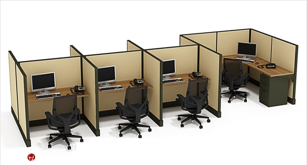 The Office Leader. Cluster of 7 Person Telemarketing Office ...