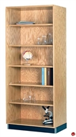 "Picture of DEVA 84""H Open Shelf Wood Storage Bookcase"
