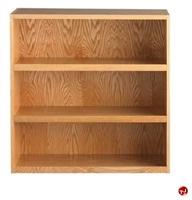 "Picture of DEVA 36""H Open Shelf Chemical Wood Bookcase"