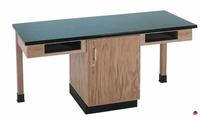 Picture of DEVA 2 Person Student Lab Work Table, Plastic Laminate Top