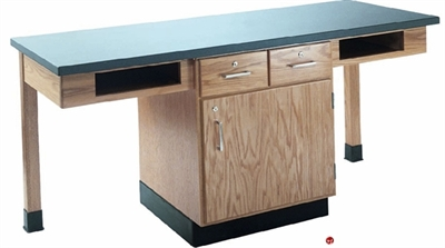Picture of DEVA 2 Person Student Lab Work Table, Plastic Laminate Top