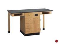 Picture of DEVA Science Lab Medical Study Workstation, Storage Cabinetry