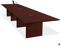 Picture of COPTI 20' Racetrack Veneer Conference Table