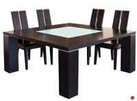 """Picture of COX Contemporary 64"""" Square Wood Dining Table"""