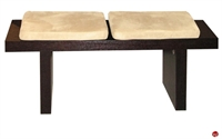 Picture of COX Contemporary 2 Seat Wood Bench