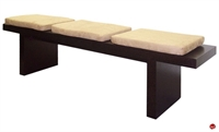 Picture of COX Contemporary 3 Seat Wood Bench
