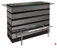 Picture of COX Contemporary Glass Top Bar Center
