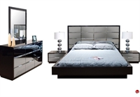 Picture of COX Contemporary Bedroom Set with Dresser and Nightstand