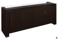 Picture of COX Contemporary Glass Top Storage Buffet
