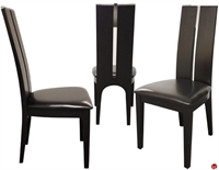 Picture of COX Contemporar White Wood Dining Armless Chair, set of 3
