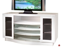 Picture of COX Contemporary Glass Door TV Storage Stand