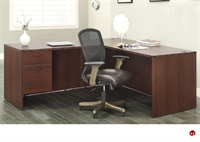 "Picture of QSP 66"" L Shape Office Desk Workstation"