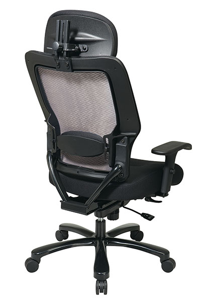 the office leader big and tall high back ergonomic mesh
