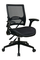 Picture of Ergonomic Multi Function Mid Back Office Task Mesh Chair