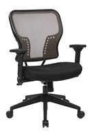 Picture of Ergonomic Mid Back Office Task Mesh Chair with Lumbar