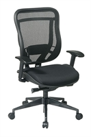 Picture of Ergonomic High Back 300 Lbs Mesh Swivel Chair with Adjustable Lumbar