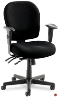 Picture of 24 Hour Multi Function Mid Back Office Task Swivel Chair